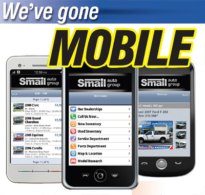 Smail Auto Group Has Gone Mobile Smail Auto Blog
