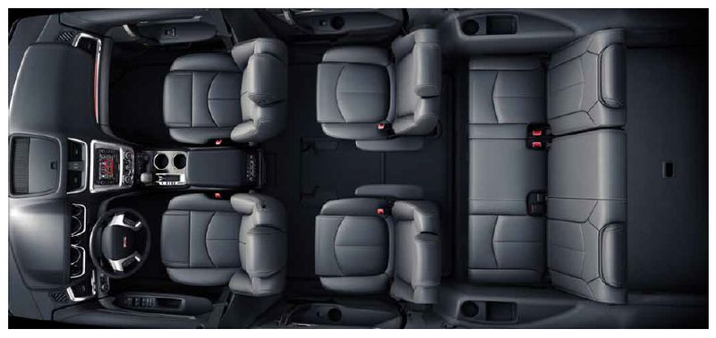 Acadia 3 Row Seating