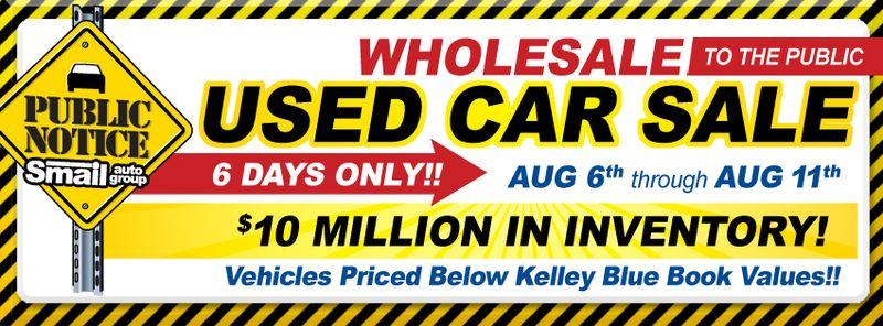 Used Car Sale near Pittsburgh
