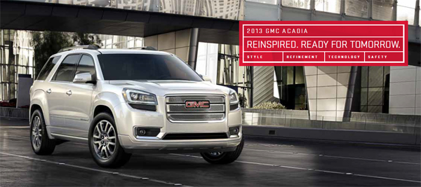 Introducing the 2013 GMC Acadia