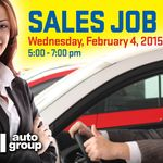 Sales Job Fair at Smail Auto Group!