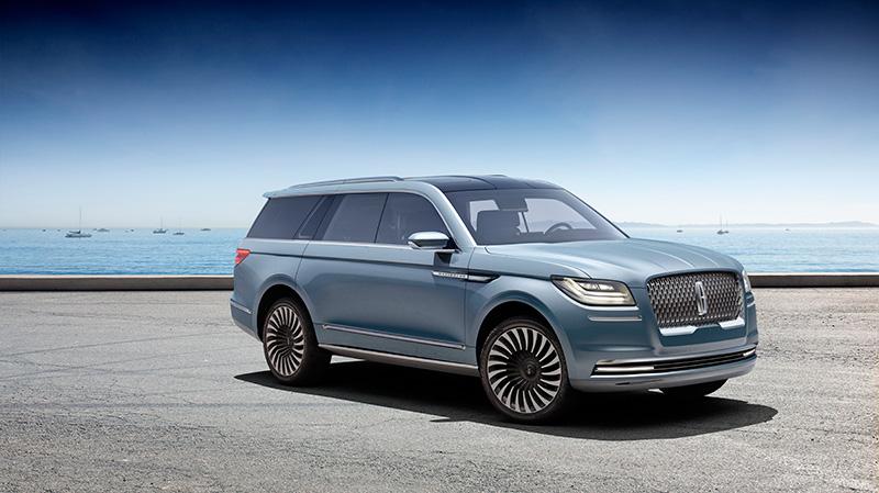 Lincoln Navigator Concept Debuts in New York
