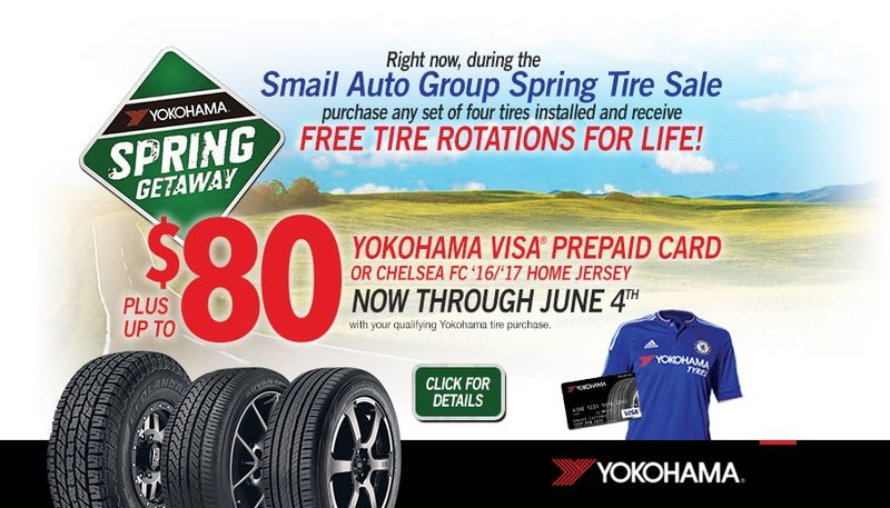 Smail Spring Tire Sale