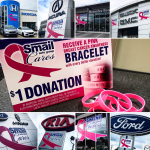 Smail Auto Group Raising Funds for Local Charities During Breast Cancer Awareness Month