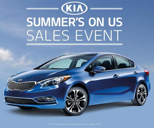 Summer S On Us Sales Event Smail Kia Blog Kia Dealer