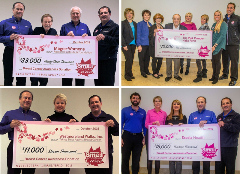 Smail Auto Group Cares Campaign Raises $67,000 During Breast Cancer Awareness Month