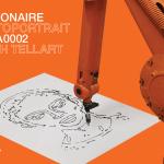 Cadillac and Visionaire unveil 'AUTOPORTRAIT' exhibit featuring artist-robot ADA0002