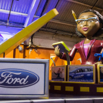 Sneak Peak at Ford's Float for America's Thanksgiving Parade