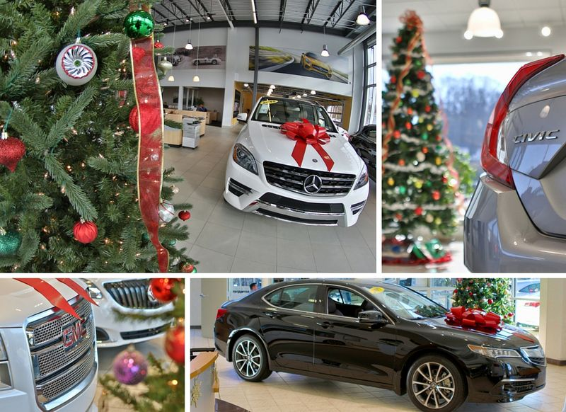 Smail Auto Group Buildings are ready for the holidays.