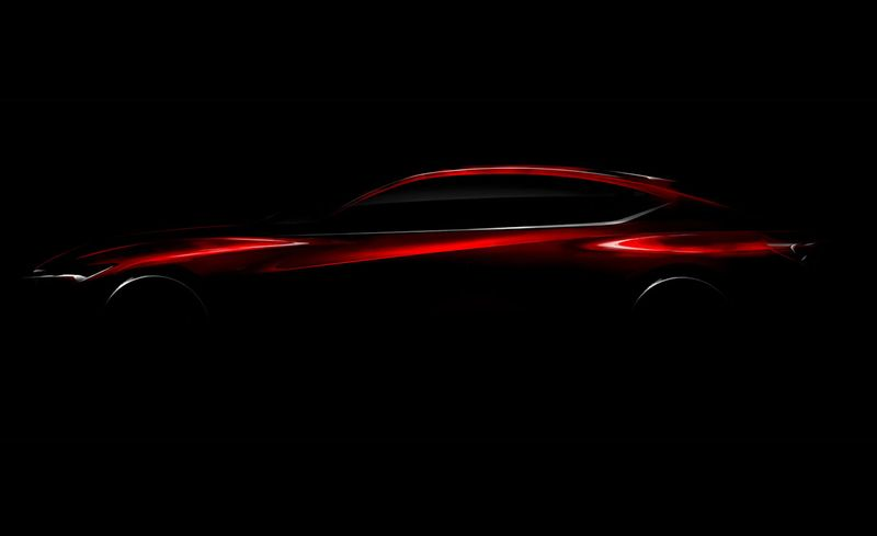 Acura will unveil the Precision Concept at the 2016 North American Auto Show